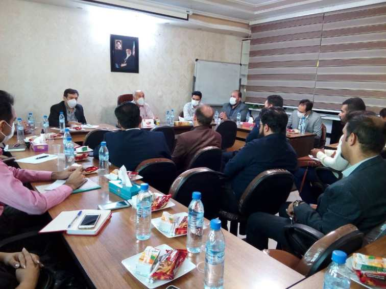 جلسه هم اندیشی با مدیران شرکت های دارویی و تجهیزات پزشکی عضو انجمن صنعت پخش فارس ، بوشهر ، کهگیلویه و بویر احمد 99/04/01