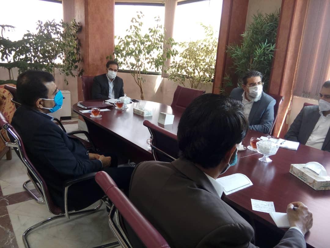 دیدار اعضا هیات مدیره انجمن پخش با رئیس سازمان صمت ومعاونین سازمان 1400/02/25