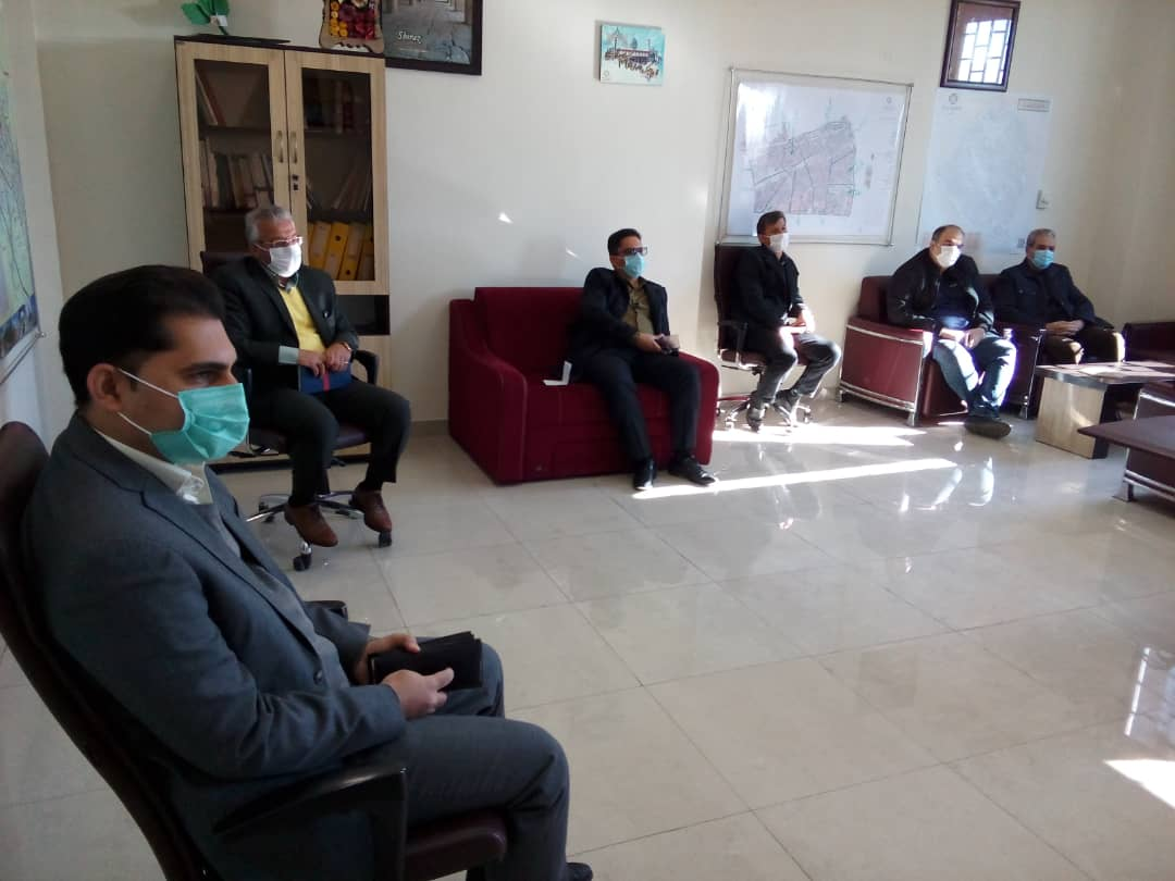 جلسه مجوز تردد خودروهای پخش بدون محدودیت مکانی و زمانی در شیراز