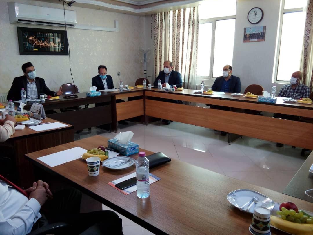 جلسه هم اندیشی با حضور معاونت محترم غذا و دارو دانشگاه علوم پزشکی شیراز جناب آقای دکتر حیدری
